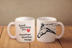 Quarter Horse - kubek z koniem i napisem