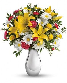 Just Tickled Bouquet by Teleflora Flowers