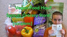Sprouts Grocery Food Haul! [VEGAN + ORGANIC]