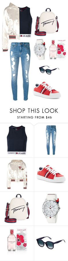 """""""Tommy Hilfiger"""" by dulce345 ❤ liked on Polyvore featuring Tommy Hilfiger"""
