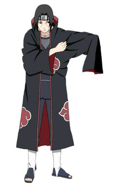 """I was a rock and roller, back in my day."" Uchiha Itachi Akatsuki~"