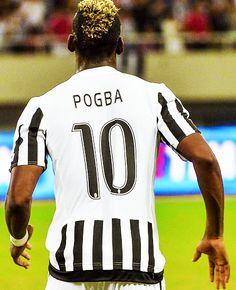 Pogba wearing #10 ❤️