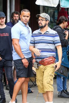 """📷First Look [bis]: Lin-Manuel Miranda on set as Piraguero on June 2019 in New York City. Cast Of Hamilton, Hamilton Broadway, Vanessa Nadal, Miranda White, In The Heights Movie, Theatre Geek, Broadway Theatre, Musical Theatre, Rob Marshall"