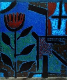 Nacht-Bluete (Blue Night) by Paul Klee, 1938