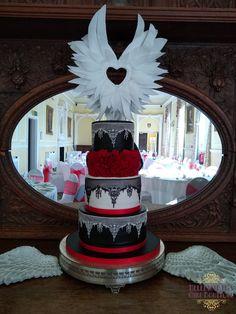 Angel wings Wedding cake