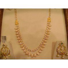 Czs Mango necklace 2 line