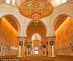 The gorgeous structure took almost 10 years to build - and more than 30,000 workers - and was only completed in 2007