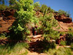 Hiking In Sedona, Arizona Visit Sedona, Sedona Arizona, Golf Courses, Road Trip, Hiking, Country Roads, Vacation, Fork, Places