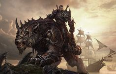 monster warrior fantasy - Buscar con Google