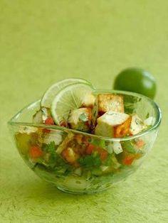 Tofu Lime Ceviche! #vegetarian