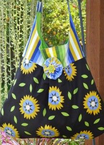 Free Sewing Pattern: The Fancy Free Sling Bag - I Sew Free