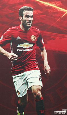 Juan Mata of Man Utd i in 2015 Chevy Vehicles, Premier League Champions, Wayne Rooney, Manchester United Football, Trafford, Europa League, Man United, Football Soccer, You Fitness