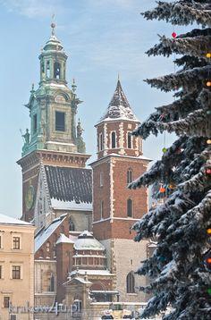 Kraków zimą