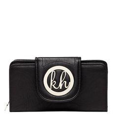 Kate Hill purse, tab, big KH