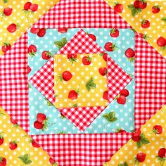 Farmer's Wife Quilt Along Block #44 - Gentleman's Fancy | Flickr - Photo Sharing!