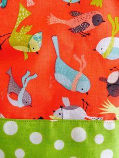 Vous cherchez un look denfer pour votre mini? Voici la robe Its a birds life! Une superbe pièce qui fera fureur cet été! Fait à la main avec