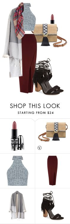 """""""Cold afternoon"""" by paulina-213 ❤ liked on Polyvore featuring MAC Cosmetics, Stella & Dot, Miss Selfridge, Kendall + Kylie and Humble Chic"""