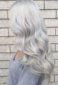 Silver Gray Hair Color Ideas 2018 Spring Trends