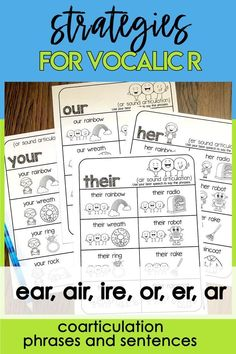 Articulation Therapy, Articulation Activities, Speech Activities, Speech Therapy Activities, Speech Language Pathology, Speech And Language, Language Activities, Phrases And Sentences, Play Therapy Techniques