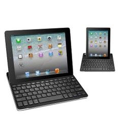 Anker Ultrathin iPad Bluetooth Wireless Keyboard Aluminum Cover Case with Stand for iPad 4 / 3 / 2 - Black
