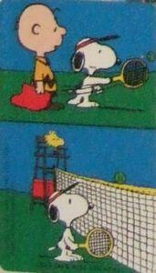 Peanuts - Snoopy Sports 2 / Tennis