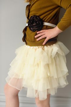 Peachy Keen cream #tutu by Taylor Joelle Designs. http://taylorjoelle.com . REPIN this for a chance to WIN it! Details at http://www.taylorjoelleblog.com