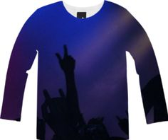 Concert Long Sleeve Tee from Print All Over Me