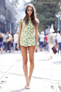 What are some outfit ideas for a hot summer night out? via @WhoWhatWearUK