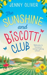 """A sublime recipe for a day (or two or three) of tanning and reading: """"The Sunshine and Biscotti Club"""" by Jenny Oliver via @barnes&noble #JennyOliver #TheSunshineandBiscottiClub #beachreads #summereading #SS2017"""