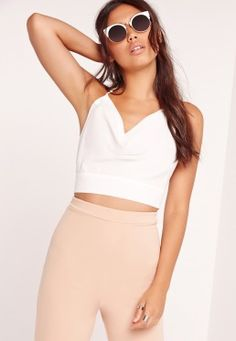 Missguided has the fiercest collection of affordable, coveted tops in the fashion universe. From crop tops & camis to shirts & bodysuits - just take a look! Cami Crop Top, Basic Tank Top, Crop Tops, Tank Tops, Plus Size Tops, Missguided, Casual Looks, Your Style, Topshop