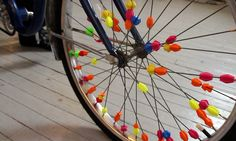 Bicycle Spoke Beads by JonMonaghan. I need to print these for my daughter's bike! Childhood Memories 90s, Childhood Toys, Retro Toys, Vintage Toys, Kids Bike Accessories, Bicycle Spokes, Bike Wheel, 90s Nostalgia, Ol Days
