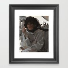 Art Print by Jacqueline Gomez Fine Artist #artdecor #homedecor Impressionist Art, Cool Artwork, Framed Art Prints, Art Decor, Black And Grey, Portrait, Artist, Painting, Women