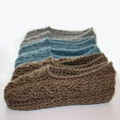 Ravelry: Cottage Slippers pattern by Kim Miller