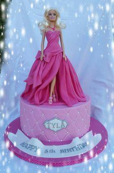 Princess Barbie Cake - Cake by Kim Berriman