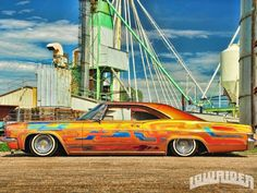low riders 1966 Chevy Impala, Low Life, Custom Paint Jobs, Hot Rides, Sounds Good, Lowrider, Scallops, Hot Cars, Old School