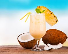 We are loving the fruity flavors in this refreshing recipe for Coconut Sangria from El Conquistador Resort in Puerto Rico. Featured on SpaFinder Wellness 365.