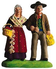 The Old Couple –- Couple de Vieux - Size #3 / Grande