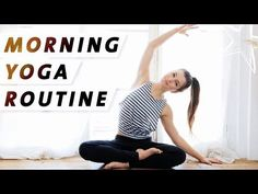 Yoga Morgen-Routine | Wach & Energiegeladen | Der perfekte Start in den Tag - YouTube