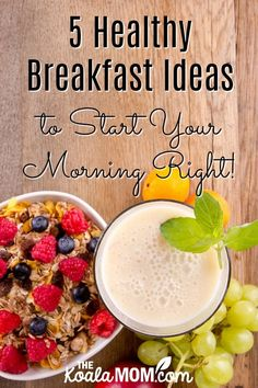 A list of healthy breakfast ideas to help you start your morning right, from eggs to smoothies. Stay healthy and start your day feeling fantastic! Good Healthy Recipes, Healthy Breakfast Recipes, Breakfast Ideas, Health Breakfast, Breakfast Smoothies, Fast Dinners, Easy Meals, Strawberry Banana Smoothie, Smoothie Prep