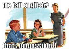 English Class.  :)