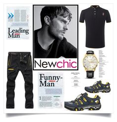 """""""New chic 7"""" by zbanapolyvore ❤ liked on Polyvore featuring men's fashion and menswear"""