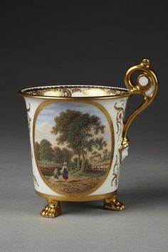 Porcelain Cup, Baxter, Thomas (born 1782 - died 1821)
