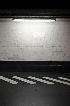 B&W pedestrian way #light