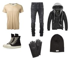 """""""Charles Beckendorf"""" by moonbibliphile on Polyvore featuring Balmain, DRKSHDW, Mulberry, Nudie Jeans Co., men's fashion и menswear"""