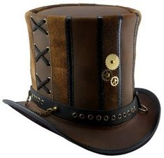 Steampunk top hat by cristina