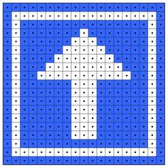 KleuterDigitaal - wb kralenplank bord eenrichtingsweg 01