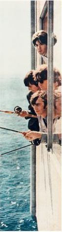 The Beatles fishing from a window in suite 272 at the Edgewater Hotel, Aug. 21, 1964. (Photo courtesy Edgewater Hotel) Photo: / / SL