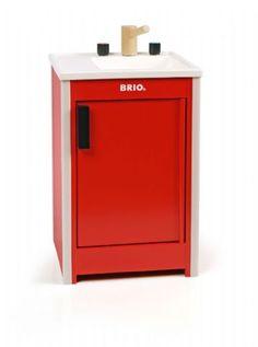 Brio Køkkenvask Rød
