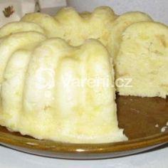 Fotografie receptu: Domácí knedlík v bábovkové formě Dairy, Cheese, Food, Essen, Meals, Yemek, Eten