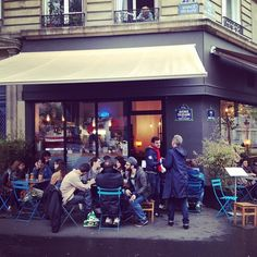 KB Café is a funky, relaxed, and pretense-free shop near the Sacre Coeur with a strong espresso program. Grab one of the outdoor seats on a nice day.